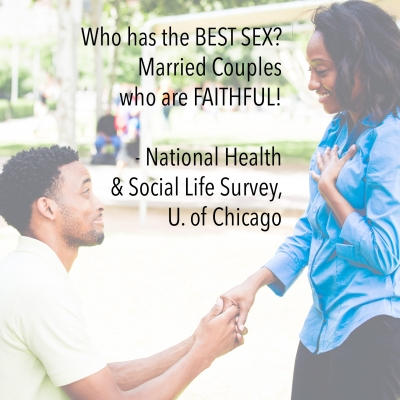 Who has the BEST SEX? Married Couples who are FAITHFUL! - National Health & Social Life Survey, U. of Chicago